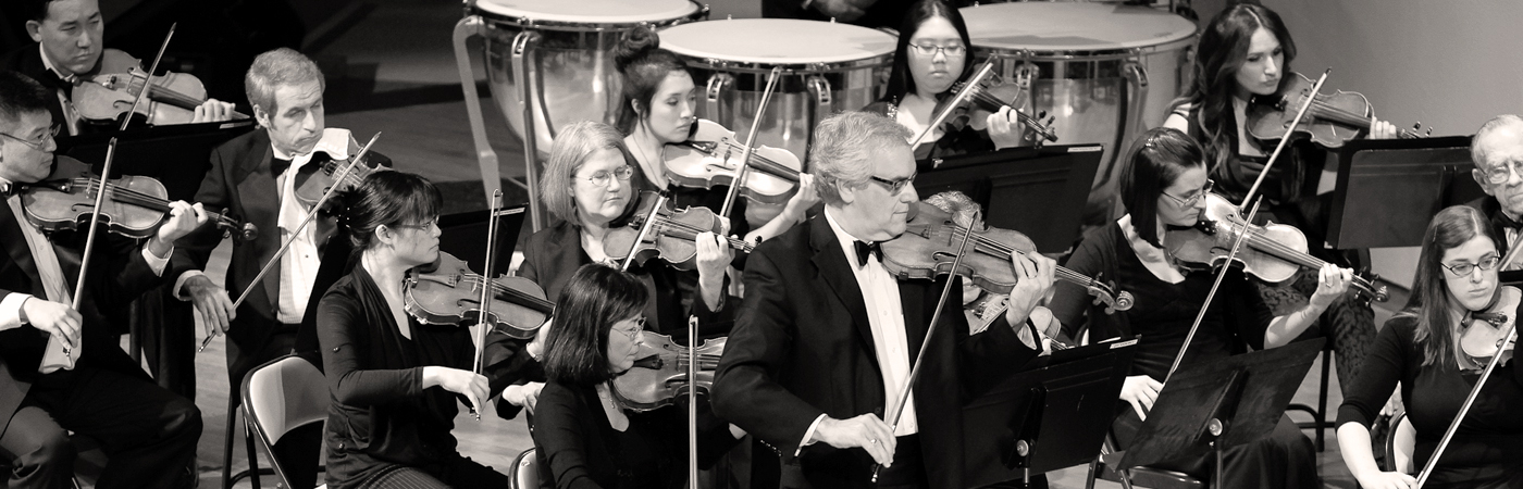 Paul Stein with the Pasadena Community Orchestra