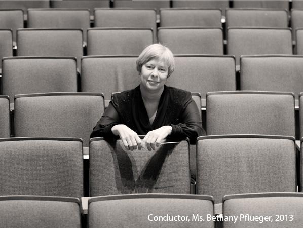 Conductor Bethany Pflueger
