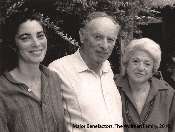 Wolman Family - Major Benefactors
