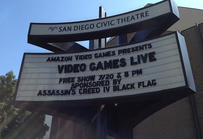 Video Games Live 2013, San Diego Concert