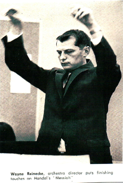 Founder Wayne Reinecke Conducting