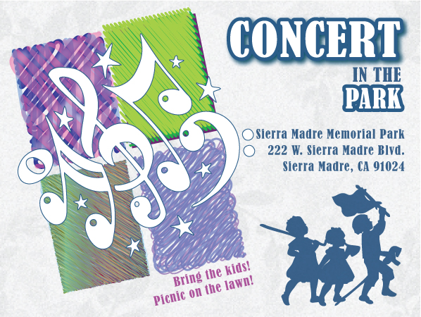 Free Classical Concert in the Park with the Pasadena Community Orchestra, June 2017